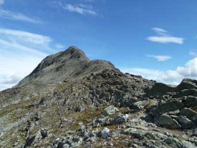 Gipfelbesteigung Besseggen