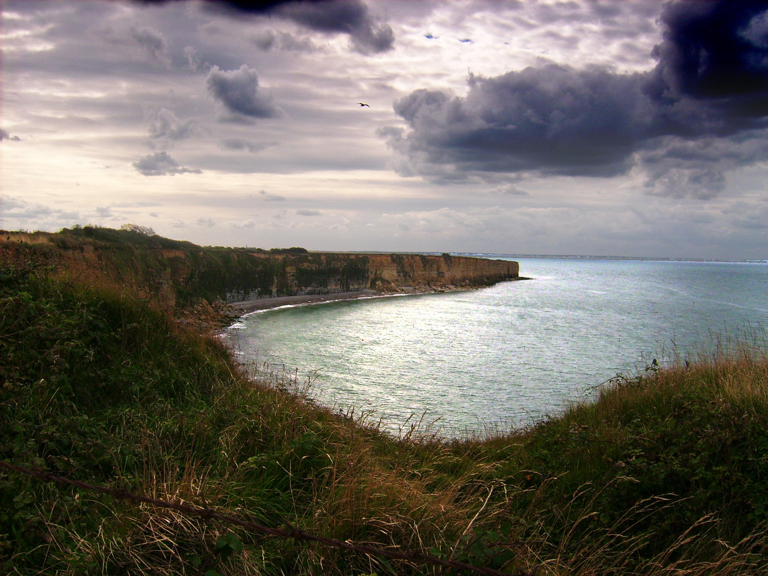Trekking in der Normandie (Frankreich)