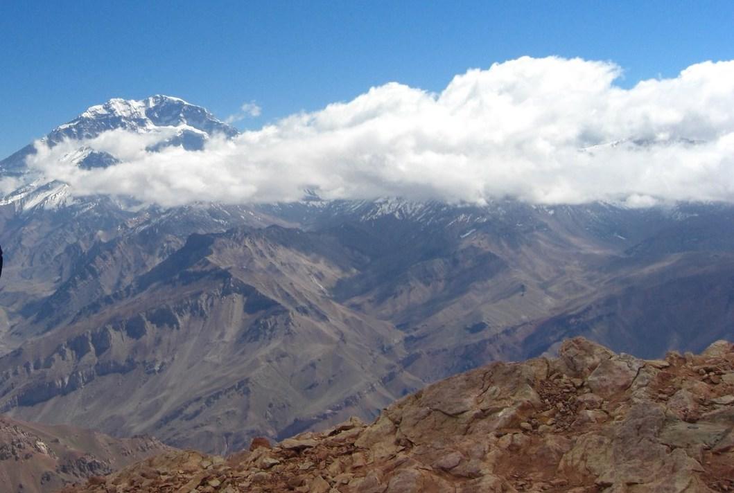 Trekking rund um den Aconcagua (Argentinien)