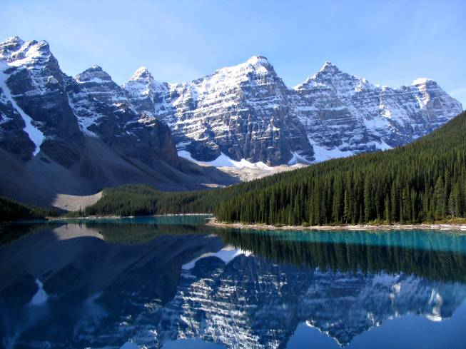 Unbeschreiblich schöne Touren rund um den Lake Louise (Kanada)