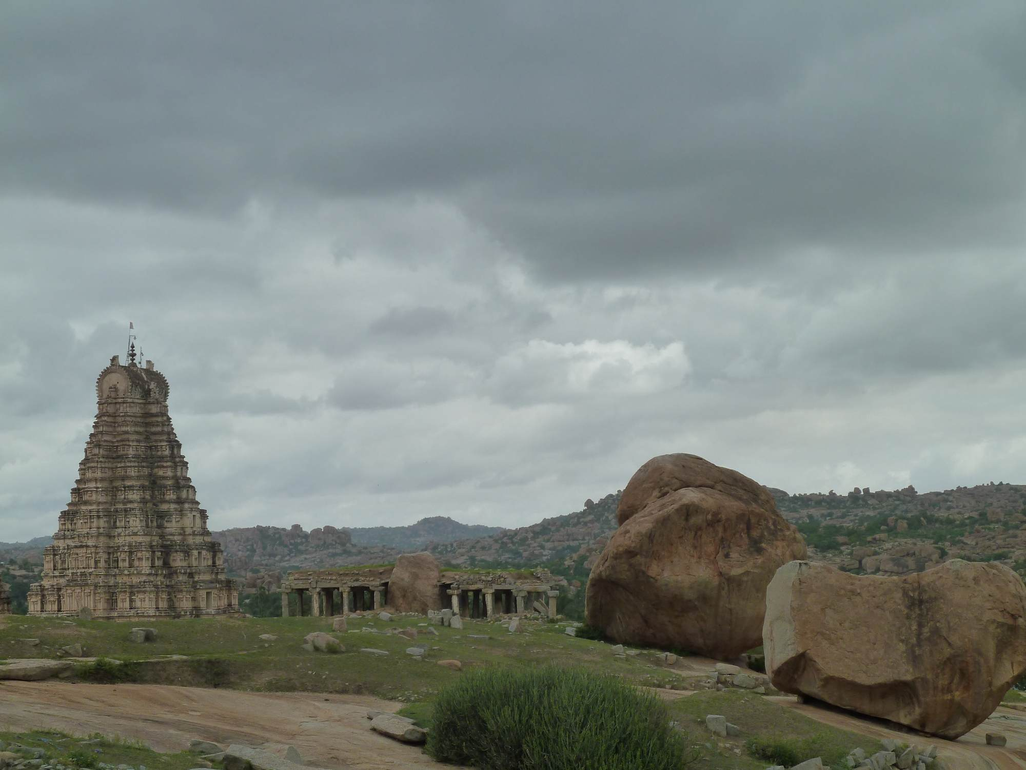 Backpacking in Hampi (Indien)