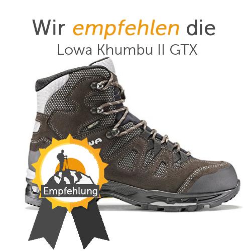 newest c2e90 35ee6 Wanderschuhe Test 2019 - Die besten Schuhe im Vergleich