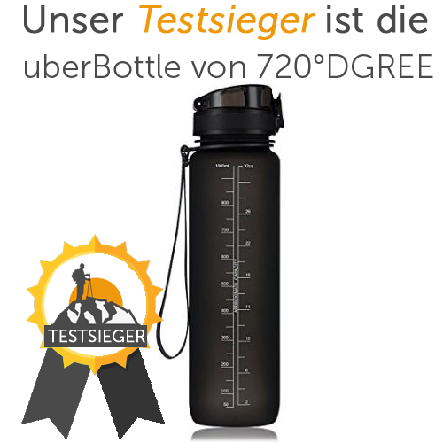 banters 1 liter sport trinkflasche bpa frei mit schraub. Black Bedroom Furniture Sets. Home Design Ideas