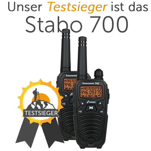 walkie talkie test 2018 die besten funkger te im vergleich. Black Bedroom Furniture Sets. Home Design Ideas